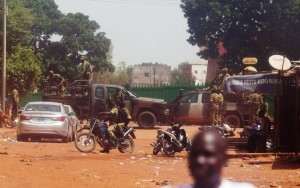 The RSP controlling the streets of Ouagadougou. Photo: Joe Penny/Reuters