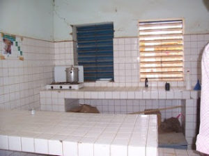 Une salle d'accouchement au Burkina