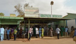 Emergency ward at Ouaga's Yalgado Hospital