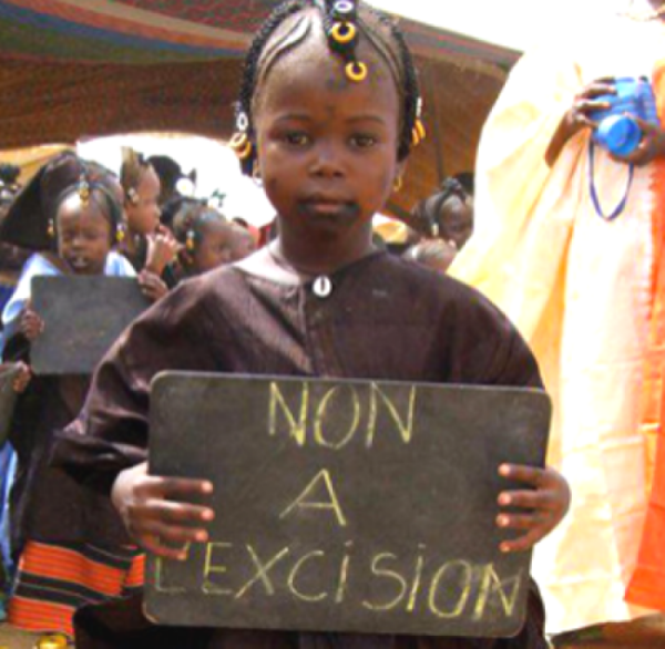 Saved from female genital mutilation!